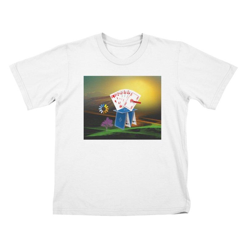 Good Fortune Kids T-Shirt by Ellarte Artist Shop