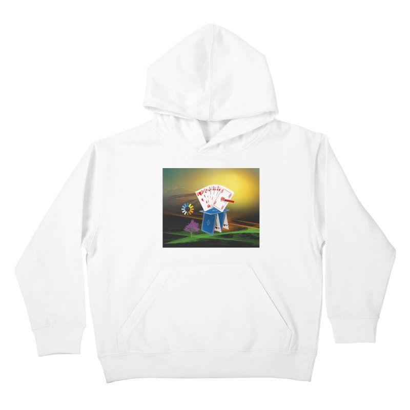 Good Fortune Kids Pullover Hoody by Ellarte Artist Shop