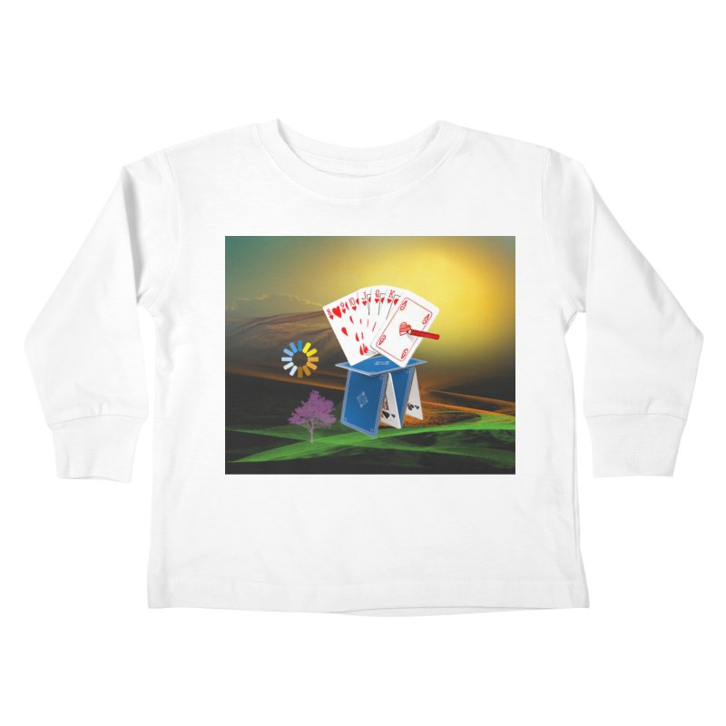 Good Fortune Kids Toddler Longsleeve T-Shirt by Ellarte Artist Shop