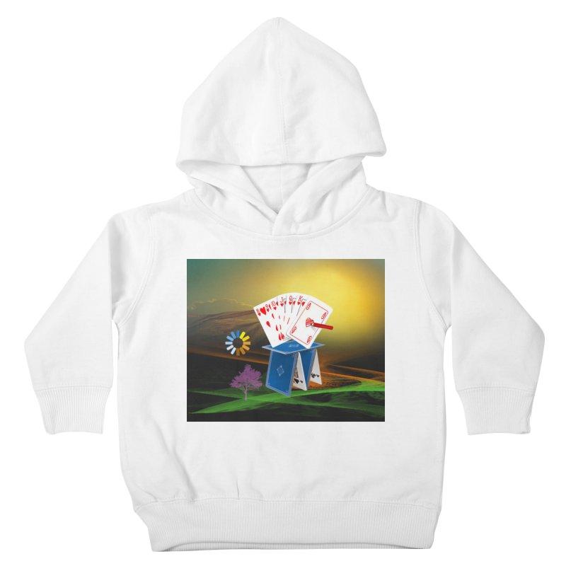 Good Fortune Kids Toddler Pullover Hoody by Ellarte Artist Shop
