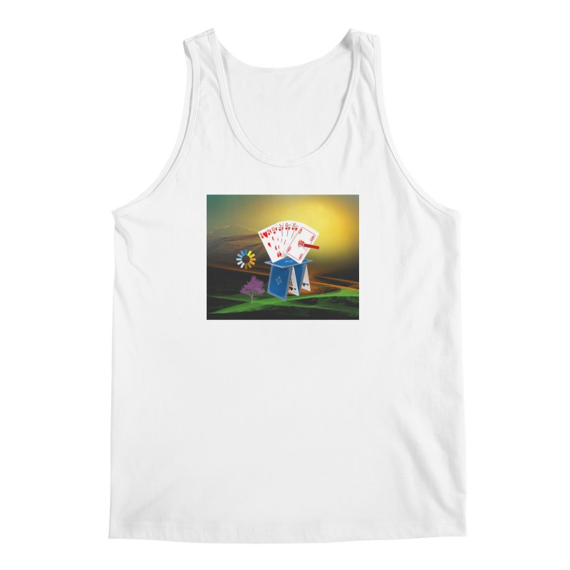 Good Fortune Men's Regular Tank by Ellarte Artist Shop