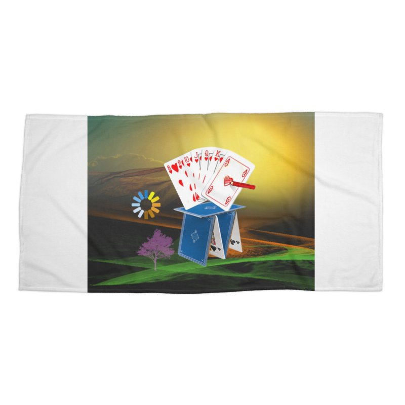 Good Fortune Accessories Beach Towel by Ellarte Artist Shop