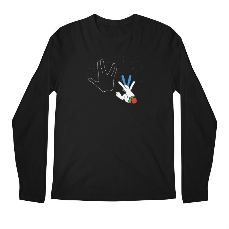 Live Long And Prosper Men's Longsleeve T-Shirt by Ellarte Artist Shop