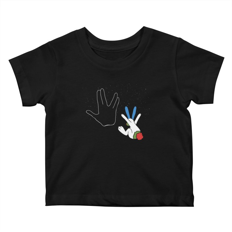 Iv Kids Baby T-Shirt by Ellarte Artist Shop