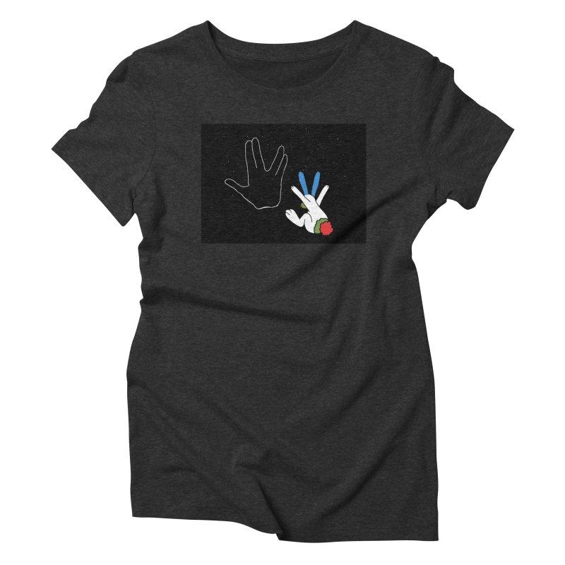 Live Long And Prosper Women's Triblend T-Shirt by Ellarte Artist Shop