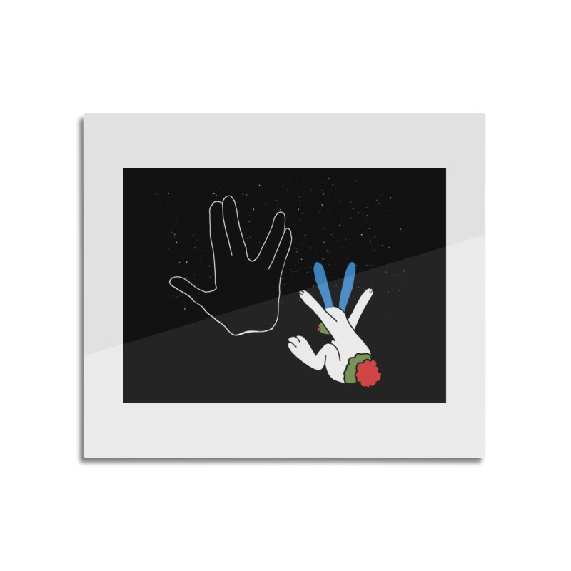 Live Long And Prosper Home Mounted Acrylic Print by Ellarte Artist Shop
