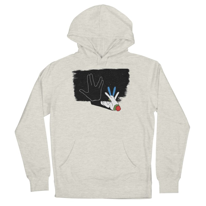 IV Women's French Terry Pullover Hoody by Ellarte Artist Shop