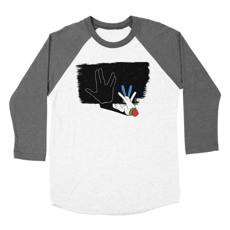 IV Women's Baseball Triblend Longsleeve T-Shirt by Ellarte Artist Shop