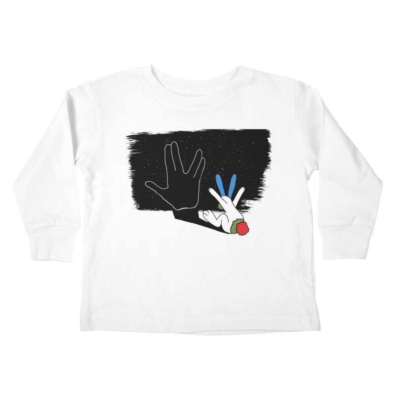 Live Long And Prosper Kids Toddler Longsleeve T-Shirt by Ellarte Artist Shop