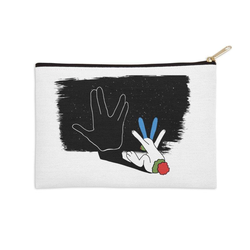 Live Long And Prosper Accessories Zip Pouch by Ellarte Artist Shop