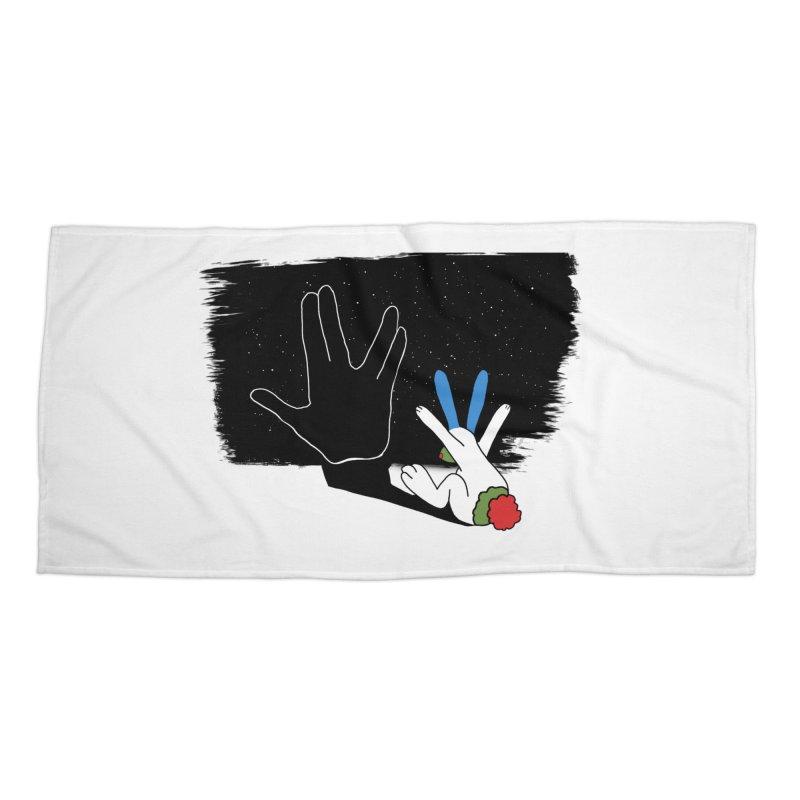Live Long And Prosper Accessories Beach Towel by Ellarte Artist Shop