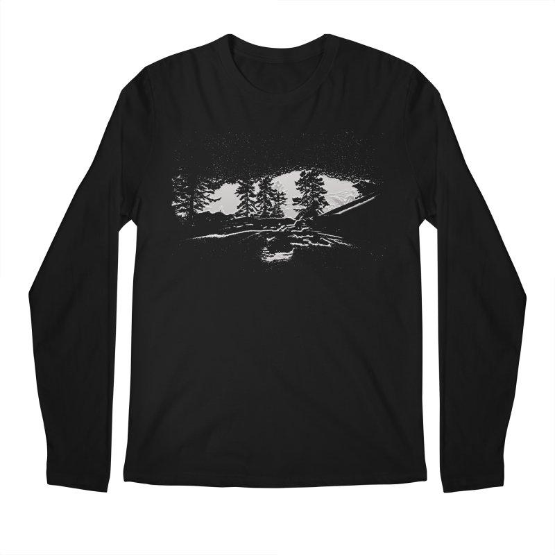 Sky Walker Men's Regular Longsleeve T-Shirt by Ellarte Artist Shop