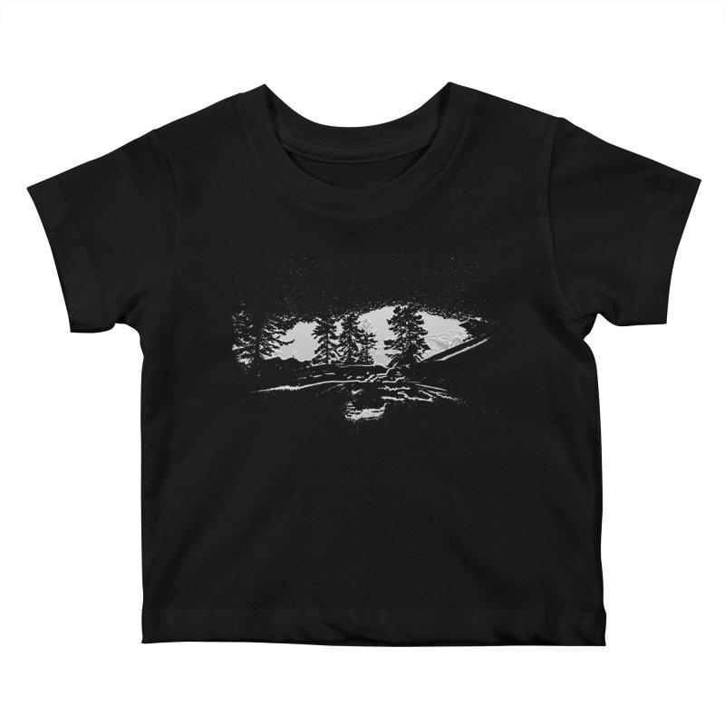 Skywalker Kids Baby T-Shirt by Ellarte Artist Shop