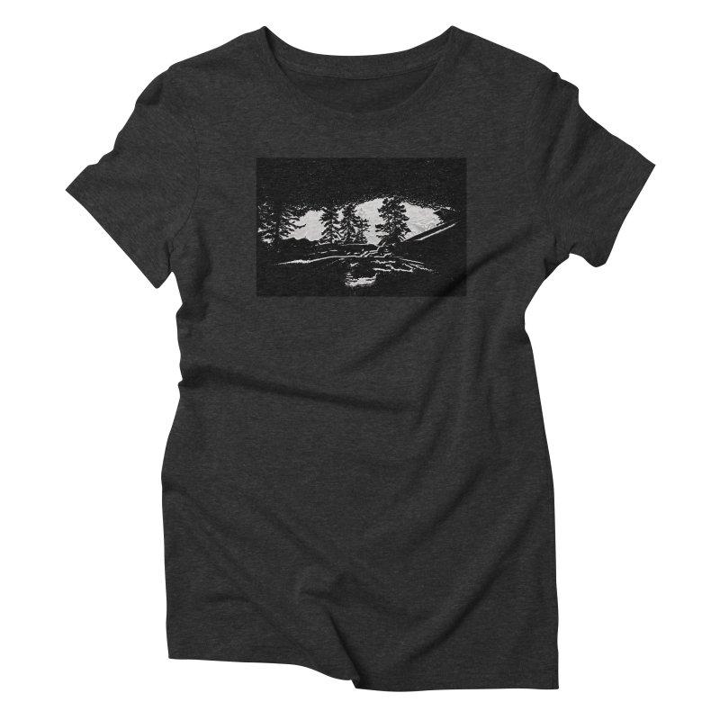 Sky Walker Women's Triblend T-Shirt by Ellarte Artist Shop