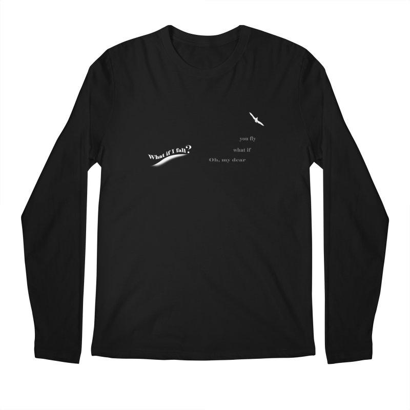 What If Men's Regular Longsleeve T-Shirt by Ellarte Artist Shop