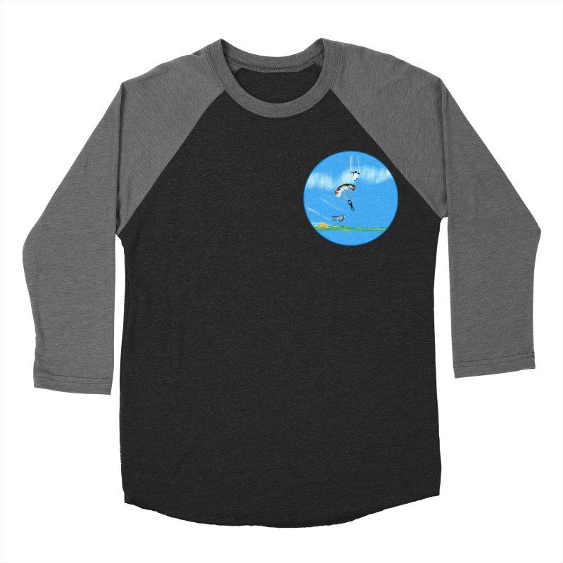 Fly Men's Baseball Triblend Longsleeve T-Shirt by Ellarte Artist Shop