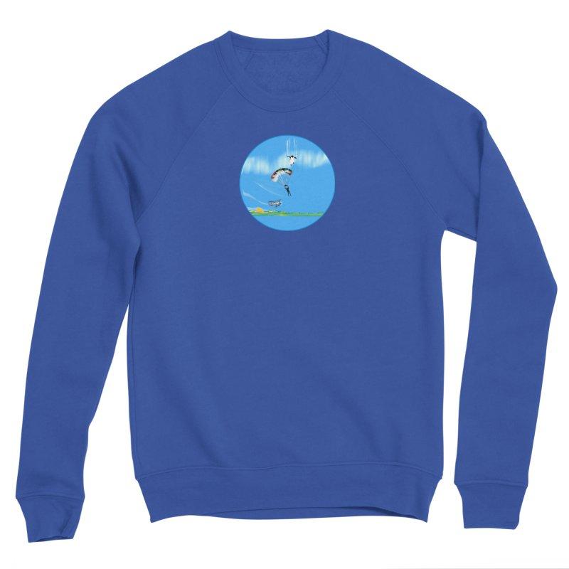 Borea Women's Sponge Fleece Sweatshirt by Ellarte Artist Shop