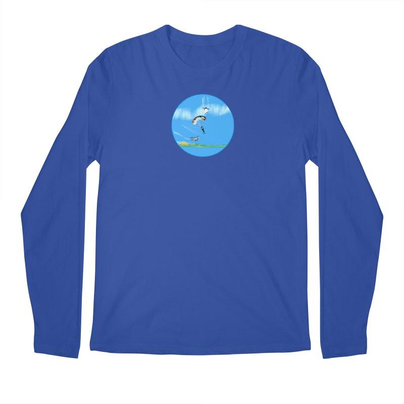 Borea Men's Regular Longsleeve T-Shirt by Ellarte Artist Shop