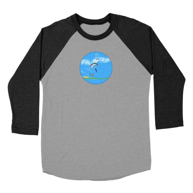 Borea Women's Baseball Triblend Longsleeve T-Shirt by Ellarte Artist Shop