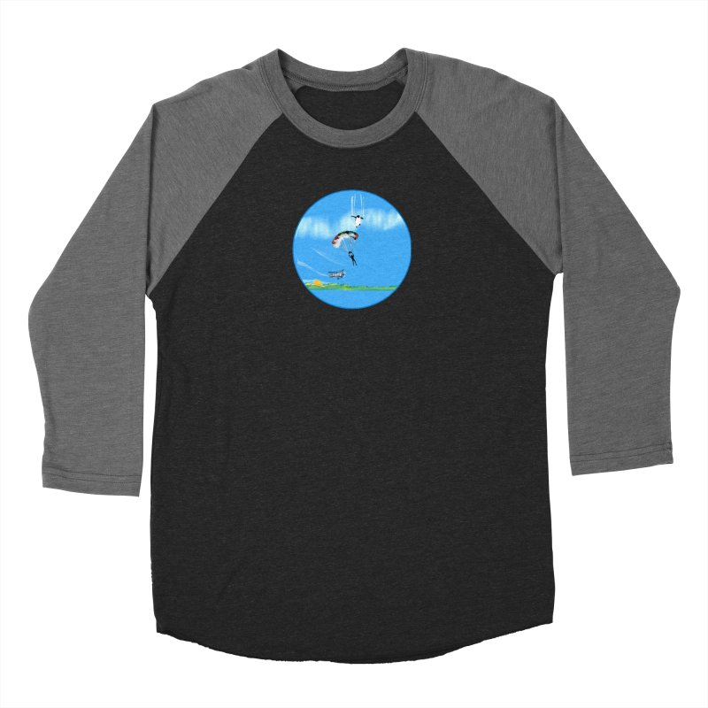 Borea Men's Baseball Triblend Longsleeve T-Shirt by Ellarte Artist Shop