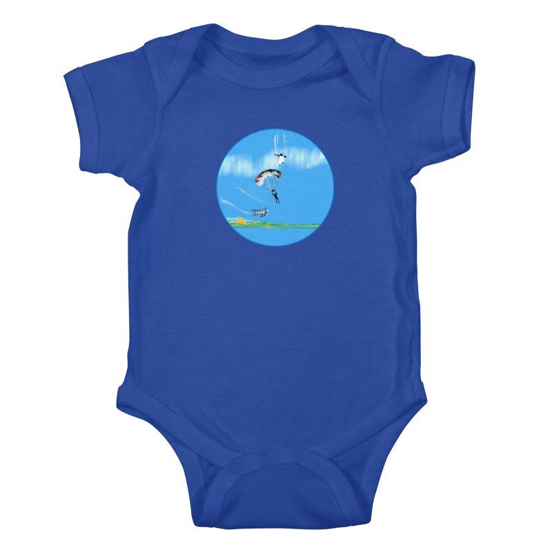 Borea Kids Baby Bodysuit by Ellarte Artist Shop