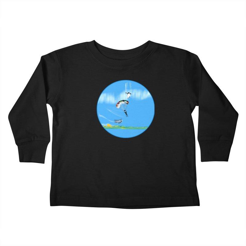 Borea Kids Toddler Longsleeve T-Shirt by Ellarte Artist Shop
