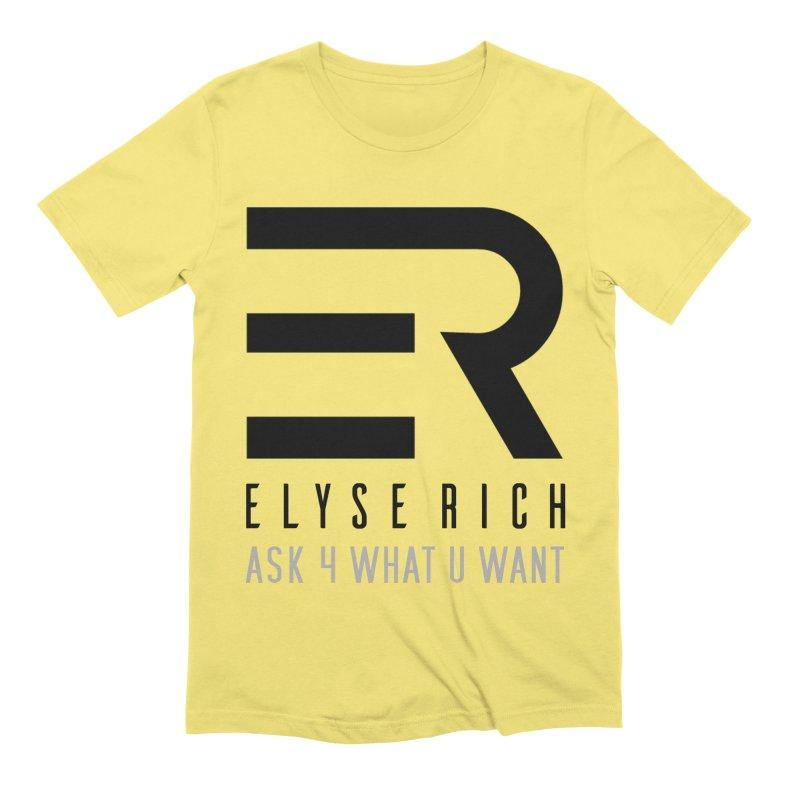 ElyseRich - ASK ER Collection UK Men's T-Shirt by ElyseRich's Artist Shop