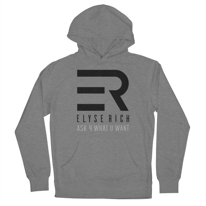 ElyseRich - ASK ER Collection UK Women's Pullover Hoody by ElyseRich's Artist Shop