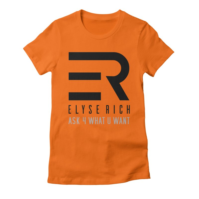 ElyseRich - ASK ER Collection UK Women's T-Shirt by ElyseRich's Artist Shop