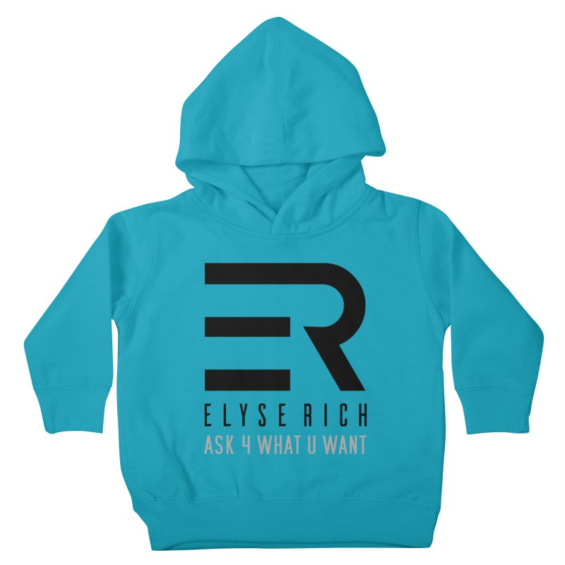 ElyseRich - ASK ER Collection UK Kids Toddler Pullover Hoody by ElyseRich's Artist Shop