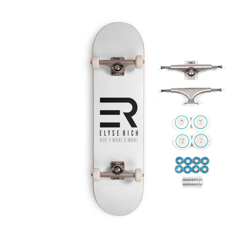 ElyseRich - ASK ER Collection UK Accessories Skateboard by ElyseRich's Artist Shop