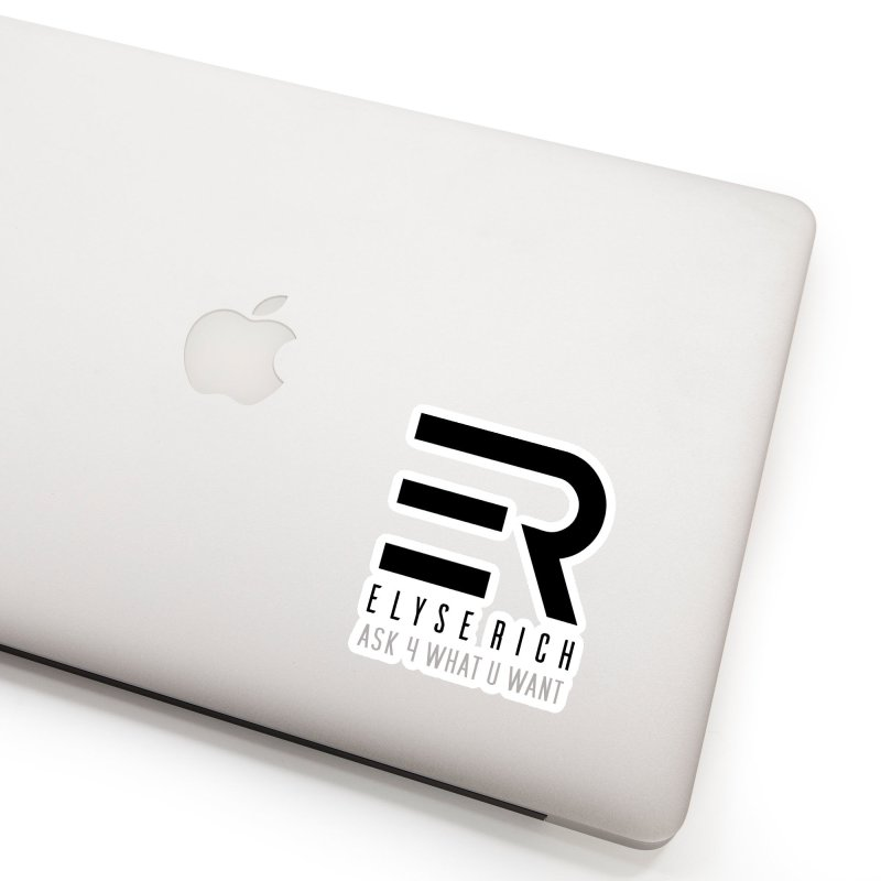 ElyseRich - ASK ER Collection UK Accessories Sticker by ElyseRich's Artist Shop