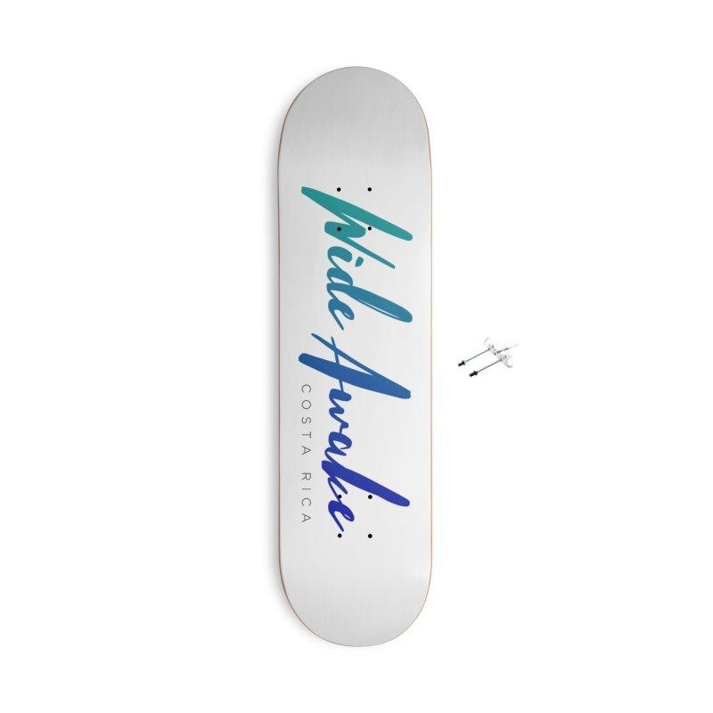 Wide Awake Costa Rica Accessories Skateboard by ElyseRich's Artist Shop