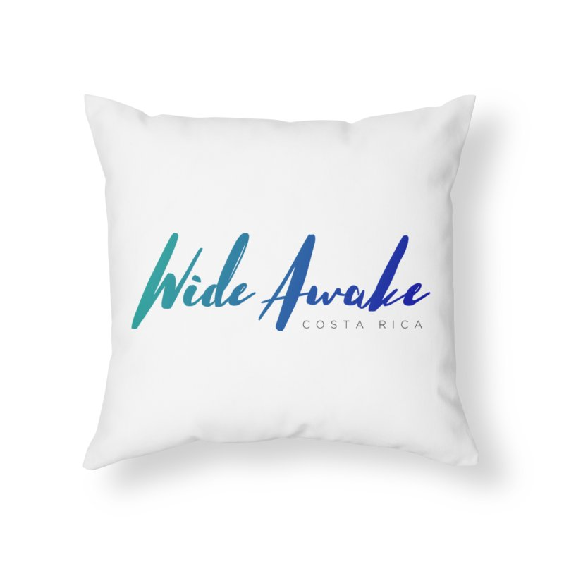 Wide Awake Costa Rica Home Throw Pillow by ElyseRich's Artist Shop