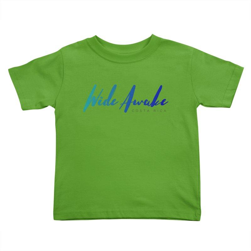 Wide Awake Costa Rica Kids Toddler T-Shirt by ElyseRich's Artist Shop