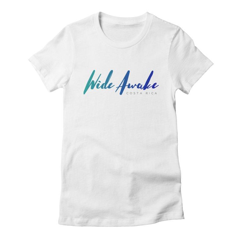 Wide Awake Costa Rica Women's T-Shirt by ElyseRich's Artist Shop