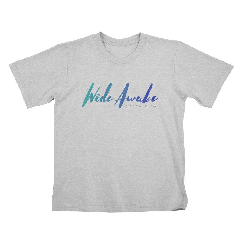 Wide Awake Costa Rica Kids T-Shirt by ElyseRich's Artist Shop