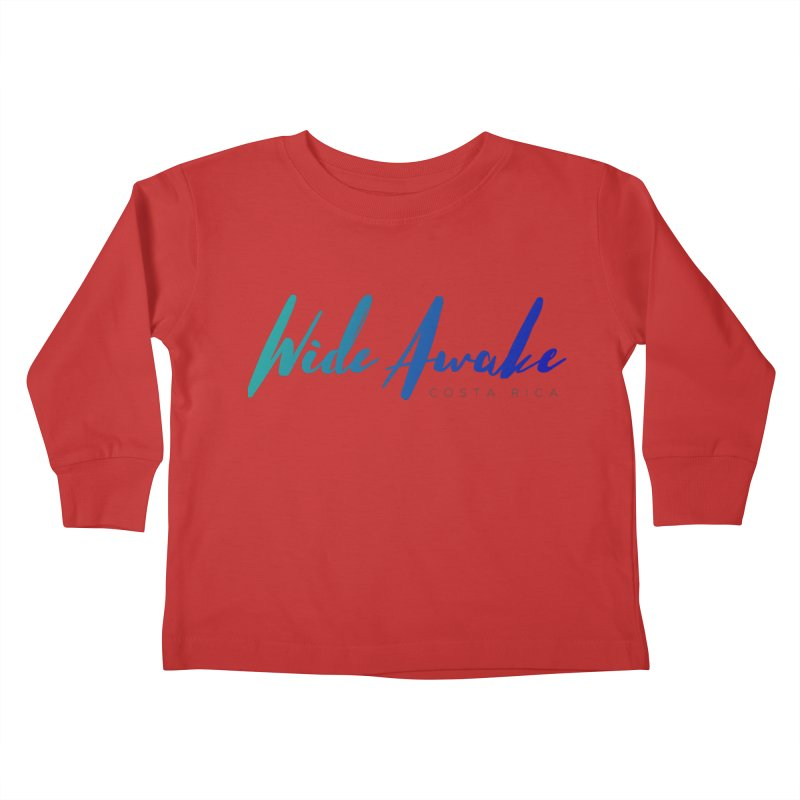 Wide Awake Costa Rica Kids Toddler Longsleeve T-Shirt by ElyseRich's Artist Shop