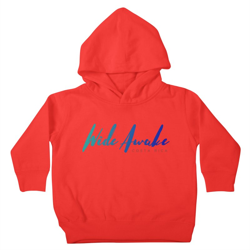 Wide Awake Costa Rica Kids Toddler Pullover Hoody by ElyseRich's Artist Shop