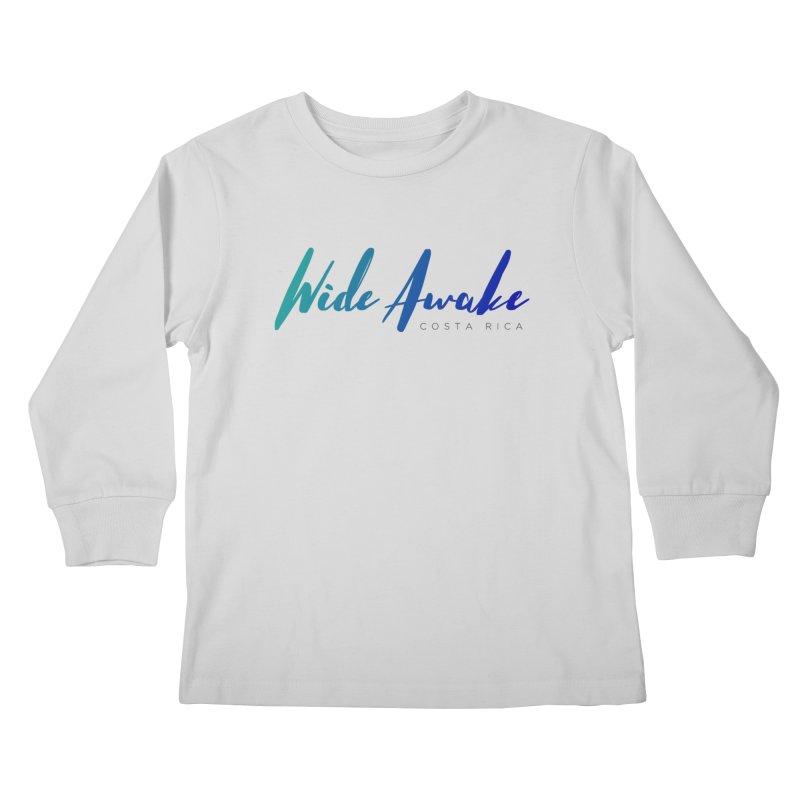 Wide Awake Costa Rica Kids Longsleeve T-Shirt by ElyseRich's Artist Shop