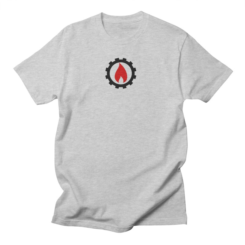 Station Logo Men's Regular T-Shirt by eMbers Station Swag Shop
