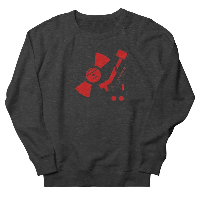 Vinyl T Men's Sweatshirt by eMbers Station Swag Shop