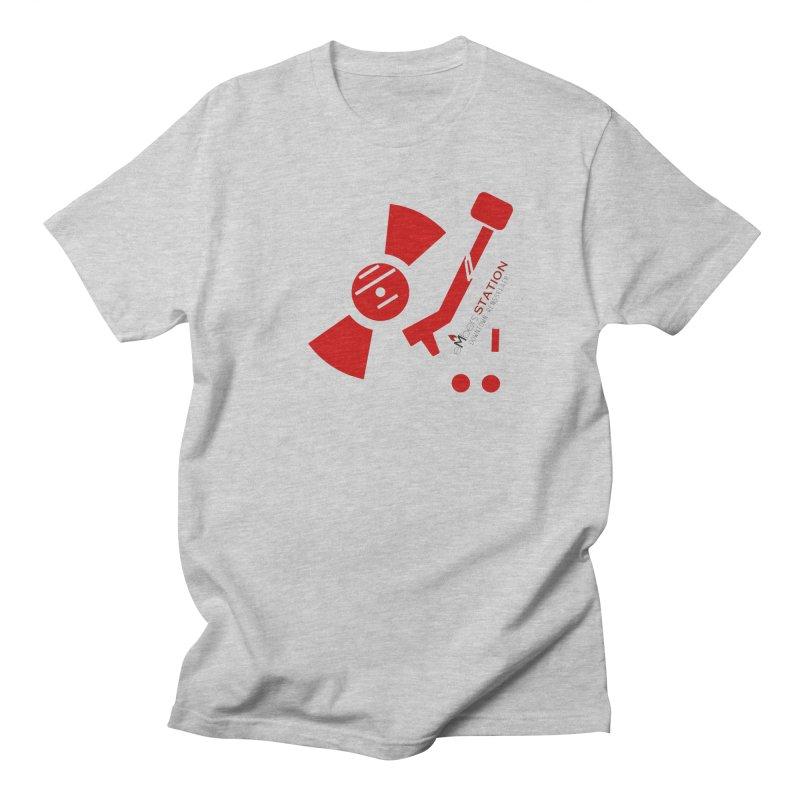 Vinyl T Men's Regular T-Shirt by eMbers Station Swag Shop