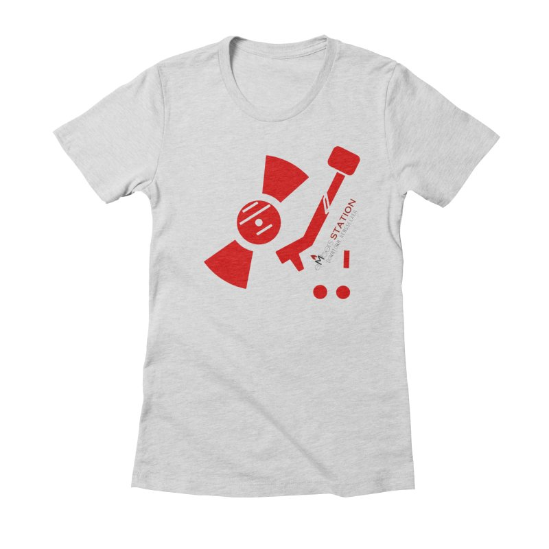 Vinyl T Women's T-Shirt by eMbers Station Swag Shop