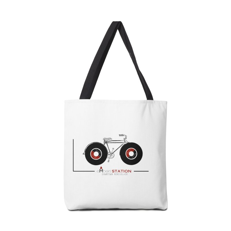 Vinyl Bike Accessories Bag by eMbers Station Swag Shop