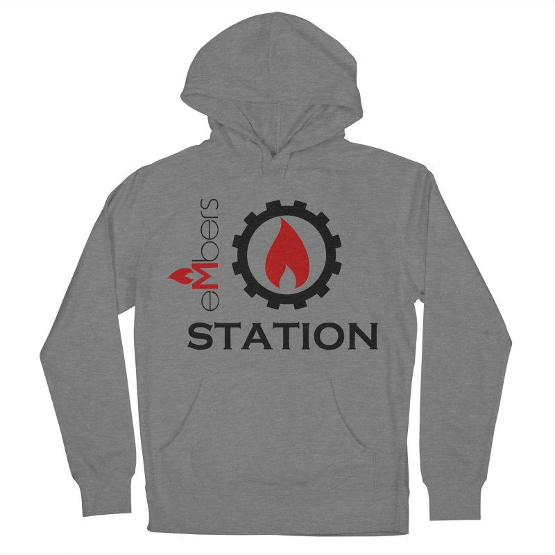 eMbers Station Women's French Terry Pullover Hoody by eMbers Station Swag Shop