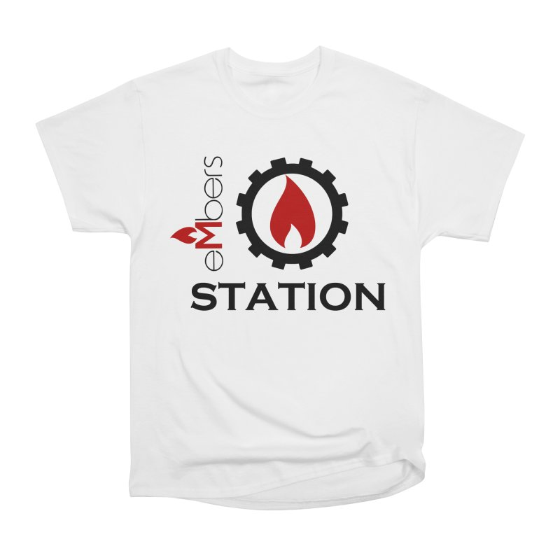 eMbers Station Men's Heavyweight T-Shirt by eMbers Station Swag Shop