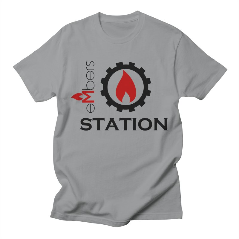 eMbers Station Men's Regular T-Shirt by eMbers Station Swag Shop