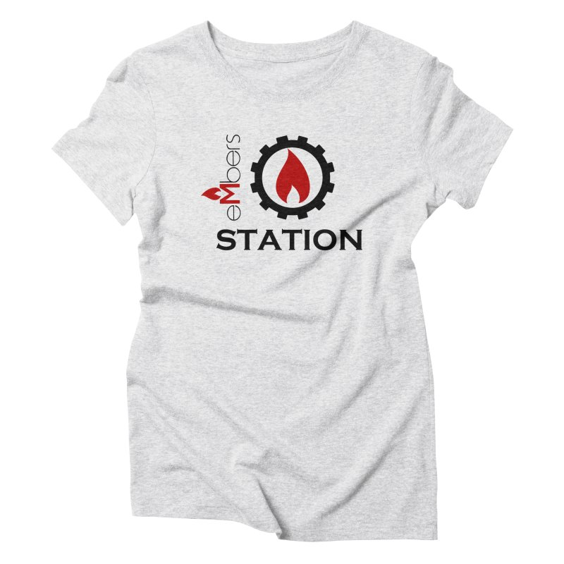 eMbers Station Women's Triblend T-Shirt by eMbers Station Swag Shop