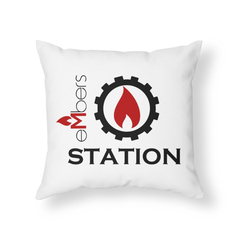 eMbers Station Home Throw Pillow by eMbers Station Swag Shop